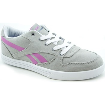 Shoes Girl Low top trainers Reebok Sport Premium Vulc Violet-Grey