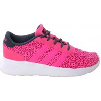 Shoes Women Low top trainers adidas Originals Lite Racer Pink-White-Black