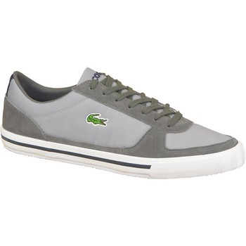 Shoes Men Low top trainers Lacoste Troyes Grey
