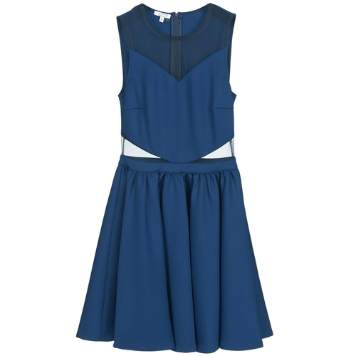 Clothing Women Short Dresses Brigitte Bardot BB45080 Blue