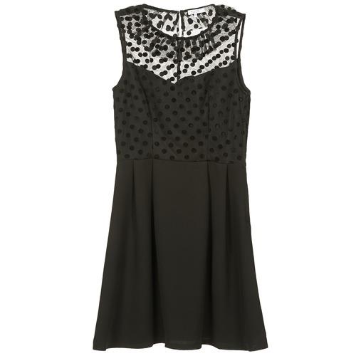 Clothing Women Short Dresses Brigitte Bardot BB45057 Black
