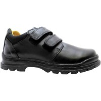 Derby Shoes Geox j william a boy's formal black dual velcro strap school shoes n