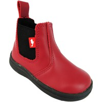 Mid boots Chipmunks Callum II oxblood red pull on leather chelsea ankle dealer boot