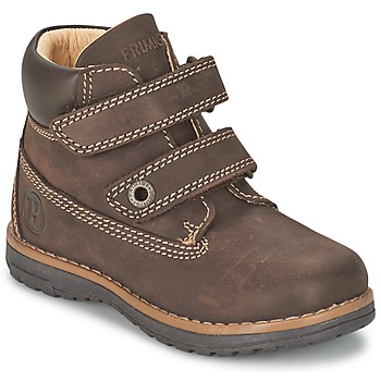 Shoes Boy Mid boots Primigi (enfant) ASPY 1 Brown