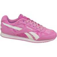 Shoes Girl Low top trainers Reebok Sport Royal CL Jog 2GR Pink