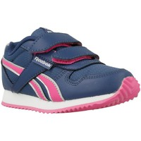 Shoes Boy Low top trainers Reebok Sport Royal Navy blue-Pink