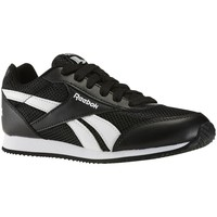 Shoes Boy Low top trainers Reebok Sport Royal Cljog Black-White