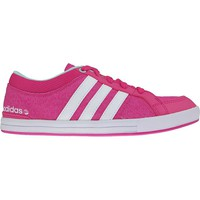 Shoes Women Low top trainers adidas Originals Skool K Pink-White-Blue