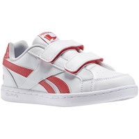 Shoes Boy Low top trainers Reebok Sport Royal Prime White-Pink