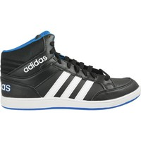 Shoes Men Hi top trainers adidas Originals Hoops Mid K Black-White-Blue