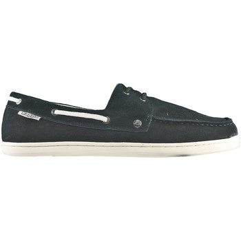 Shoes Men Boat shoes Kappa Ferry Black-White