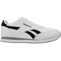 Shoes Men Low top trainers Reebok Sport Royal CL Jog 2L Black-Grey-White