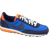 Shoes Boy Low top trainers Nike Elite GS Navy blue