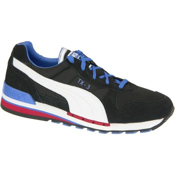 Shoes Men Low top trainers Puma TX3 Black