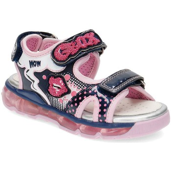 Shoes Girl Sandals Geox Junior Android Pink