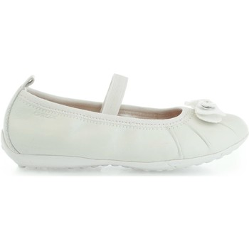 Shoes Girl Flat shoes Geox Piuma Ball J52B0 B00085 White