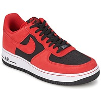 Shoes Men Low top trainers Nike AIR FORCE 1 Black /  unvrsty / Red / Red