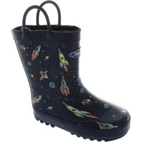 Shoes Boy Wellington boots Chipmunks Astro Navy Multi