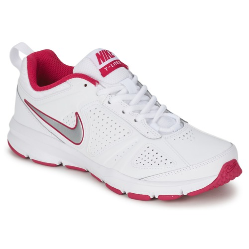 Shoes Women Multisport shoes Nike T-LITE XI White / Pink