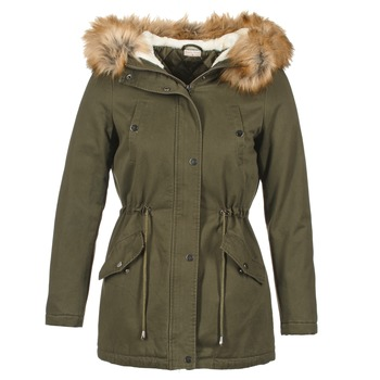 Clothing Women Parkas Moony Mood HADDY Kaki