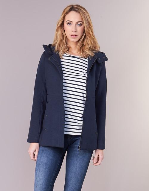 Clothing Women coats Moony Mood FANIO Marine