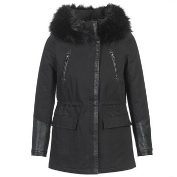Clothing Women Parkas Moony Mood FOUINI Black