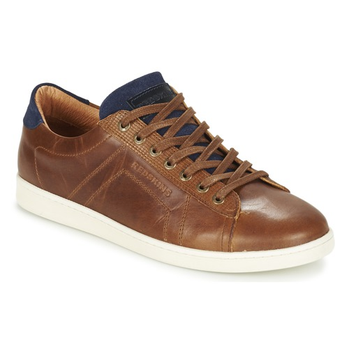 Shoes Men Low top trainers Redskins ORMIL Cognac / Marine