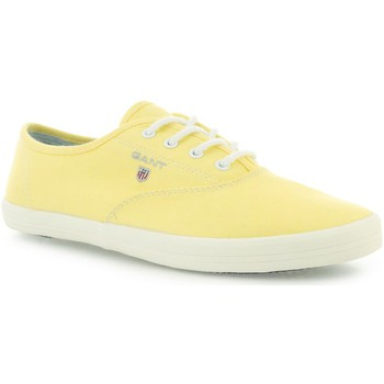 Shoes Women Low top trainers Gant New Haven Yellow