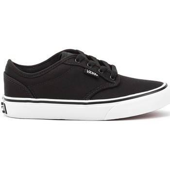 Shoes Boy Low top trainers Vans Atwood Black