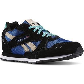 Shoes Boy Low top trainers Reebok Sport GL 1500 Black-Blue