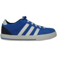 Shoes Boy Low top trainers adidas Originals Neo ST Daily LO K Blue-White