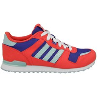 Shoes Boy Low top trainers adidas Originals ZX 700 K Red