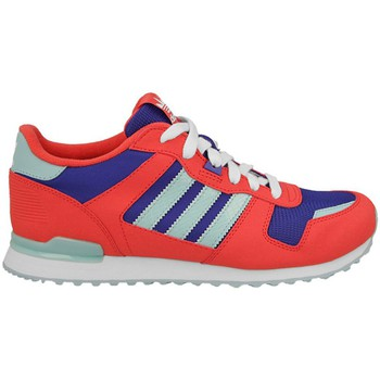 adidas  ZX 700 K  boyss Childrens Shoes (Trainers) in Red
