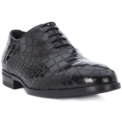 Shoes Men Brogues Eveet CROCCO NERO Nero