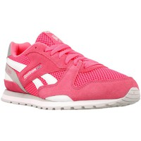 Shoes Girl Low top trainers Reebok Sport GL 3000 Pink-White