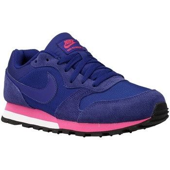 Shoes Women Low top trainers Nike MD Runner Violet-Pink-Blue