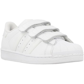 Shoes Boy Low top trainers adidas Originals Superstar Foundation White