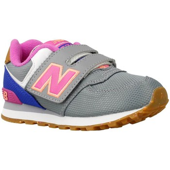 Shoes Boy Low top trainers New Balance KV574 Grey-Pink