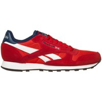 Shoes Women Low top trainers Reebok Sport Classic Sport Clean Navy blue-Red-White
