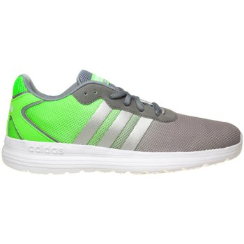 Shoes Men Low top trainers adidas Originals Cloudfoam Speed Green-Grey-White