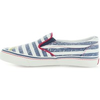 Shoes Boy Slip ons Pepe jeans Alford Jamaica Naval Blue White-Navy blue