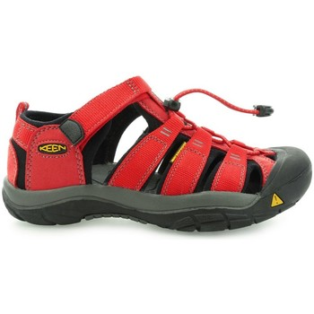 Shoes Boy Sandals Keen Newport H2 Youth Ribbon Red Gargoyle Red