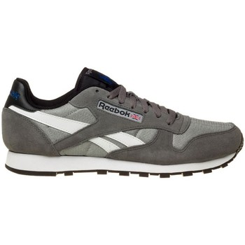 Shoes Men Low top trainers Reebok Sport Classic Sport Clean Grey-Black-White