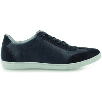 Shoes Men Low top trainers Gino Rossi Iten Navy blue