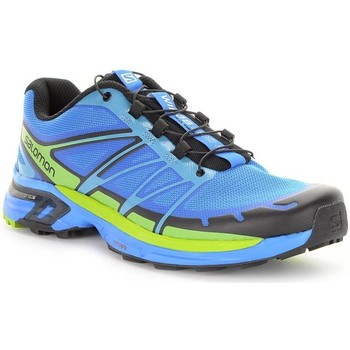 Shoes Men Low top trainers Salomon Wings Pro 2 Blue-Green