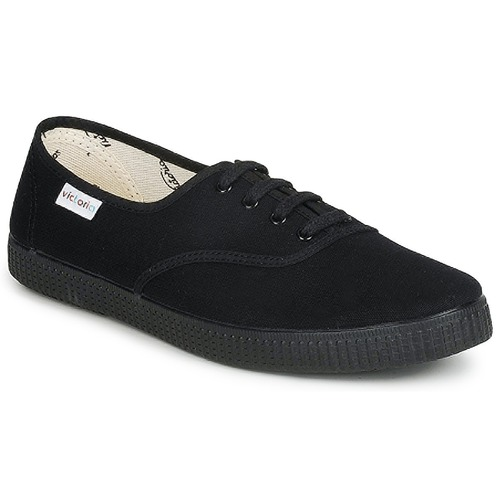 Shoes Low top trainers Victoria 6610 Black