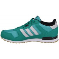 Shoes Boy Low top trainers adidas Originals ZX 700 Grey-Green-White