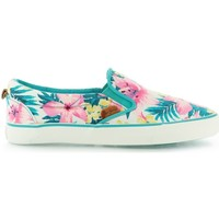 Shoes Girl Slip ons Pepe jeans Park Traveler Hawai DK Mojito White
