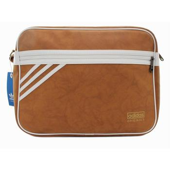 Bags Women Messenger bags adidas Originals Airliner Suede Brown