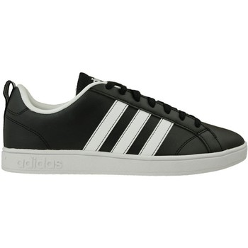 Shoes Men Low top trainers adidas Originals VS Advantage Black-White